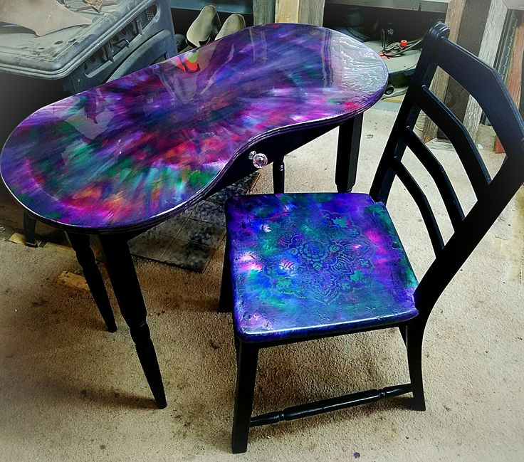 galaxy epoxy table