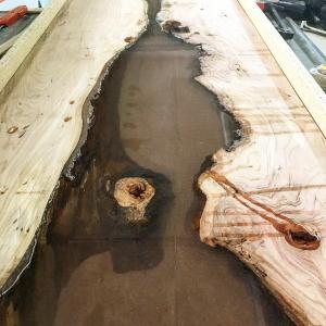 DIY River Resin Table