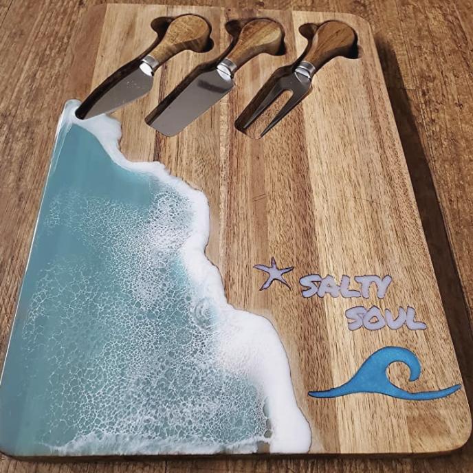Ocean Themed Cutting Board